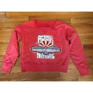 🎀 Free People • Acadia National Park Sweatshirt